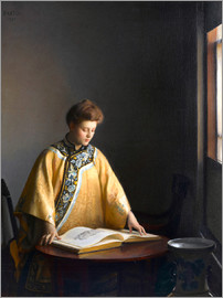 William McGregor Paxton - The Yellow Jacket