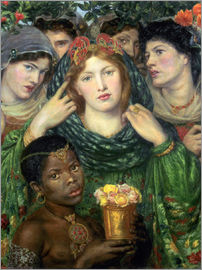 Dante Charles Gabriel Rossetti - The beloved