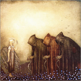 John Bauer - The story of Skutt the Moose and little Princess Tuvstarr