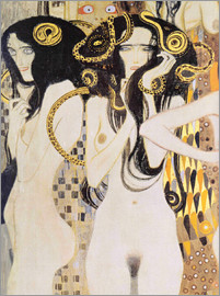 Gustav Klimt - The Gorgons