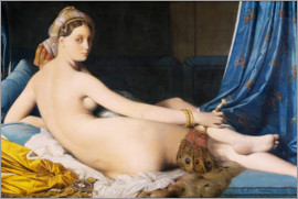 Jean Auguste Dominique Ingres - The Grande Odalisque