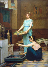 John William Waterhouse - Household Gods