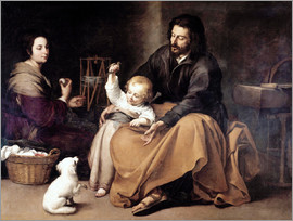Bartolome Esteban Murillo - The Holy Family with the Little Bird