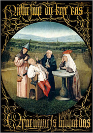 Hieronymus Bosch - Cutting the stone