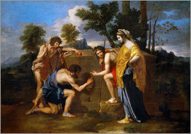 Nicolas Poussin - The Shepherds of Arcadia