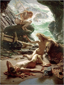 Sir Edward John Poynter - The Cave of the Storm Nymphs