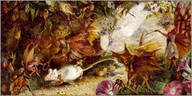 John Anster Fitzgerald - The Chase of the White Mouse