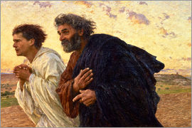 Eugene Burnand - The disciples Peter and John