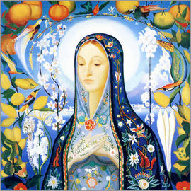 Joseph Stella - the virgin