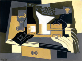 Juan Gris - The coffee grinder