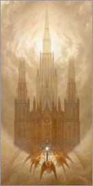 Caspar David Friedrich - The Cathedral