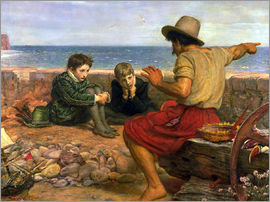 Sir John Everett Millais - The Boyhood of Raleigh