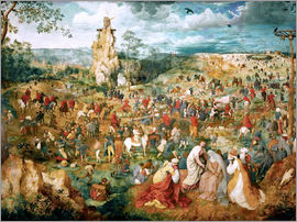 Pieter Brueghel d.Ä. - Christ Carrying the Cross