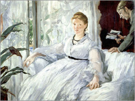 Edouard Manet - Madame Manet and her son Léon