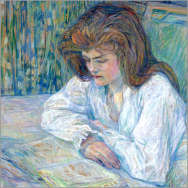 Henri de Toulouse-Lautrec - the reader