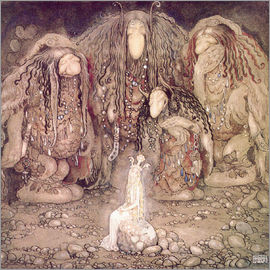John Bauer - The shining princess