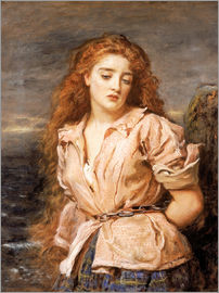 Sir John Everett Millais - The Martyr of the Solway