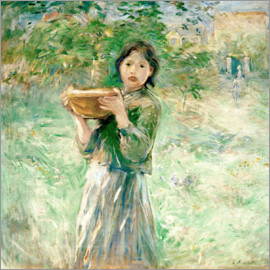 Berthe Morisot - The milk bowl