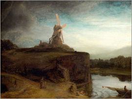 Rembrandt van Rijn - The mill