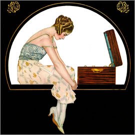 Clarence Coles Phillips - The music of women