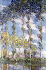 Claude Monet - The Poplars