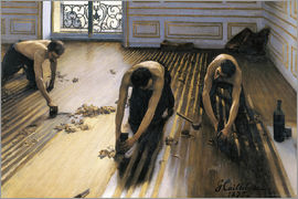Gustave Caillebotte - The Parquet Planers