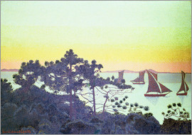 Henri Edmond Cross - The Pointe de la Galere