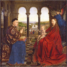 Jan van Eyck - The Rolin Madonna