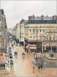 Camille Pissarro - The Rue Saint-Honoré in the afternoon
