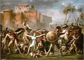 Jacques-Louis David - The Sabine Women