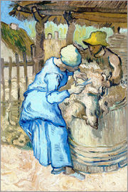 Vincent van Gogh - The Shearer
