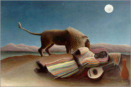 Henri Rousseau - The sleeping one