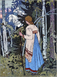 Ivan Jakovlevich Bilibin - Vassilisa the Beautiful