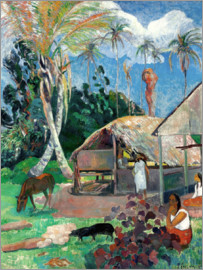 Paul Gauguin - The Balck Pigs