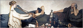 Lawrence Alma-Tadema - The Siesta