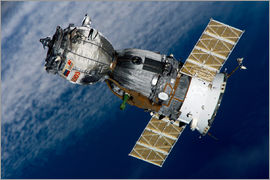 Stocktrek Images - The Soyuz TMA-7 spacecraft