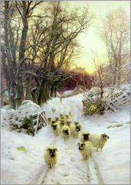 Joseph Farquharson - The Sun Had Closed the Winter's Day