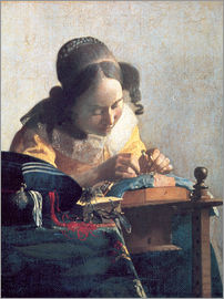 Jan Vermeer - The lace clipper
