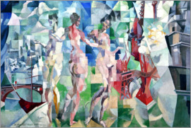 Robert Delaunay - The City of Paris