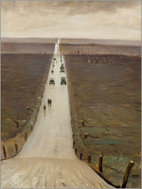 Christopher Nevinson - The Road from Arras to Bapaume
