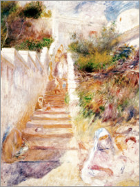 Pierre-Auguste Renoir - The Steps, Algiers