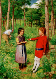 Sir John Everett Millais - The Woodman's Daughter