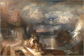 Joseph Mallord William Turner - Joseph Mallord William Turner Paintings The Parting of Hero and Leander