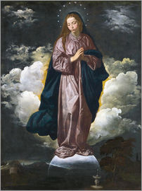 Diego Rodriguez de Silva y Velazquez - The Immaculate Conception