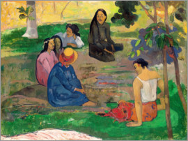 Paul Gauguin - The conversation