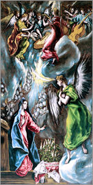 Dominikos Theotokopoulos (El Greco) - The Annunciation