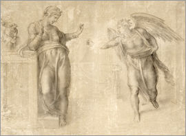 Michelangelo - The Annunciation