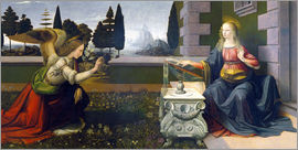 Leonardo da Vinci - The Annunciation