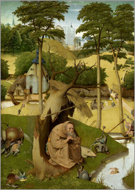 Hieronymus Bosch - The temptation of St.. Antonius