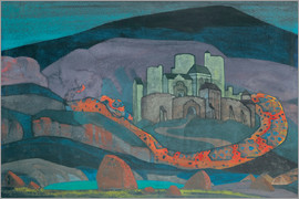 Nicholas Roerich - The Doomed City